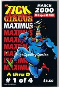 TICK CIRCUS MAXIMUS #1, NM, Ben Edlund, TV series, 2000, more Tick  in store