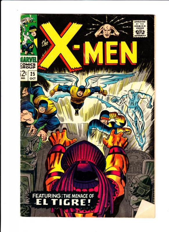 X-Men #25 (Oct-66) FN+ Mid-High-Grade X-Men