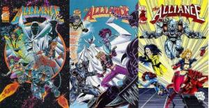 ALLIANCE (1995 IM) 1B-3B  Complete! COMICS BOOK
