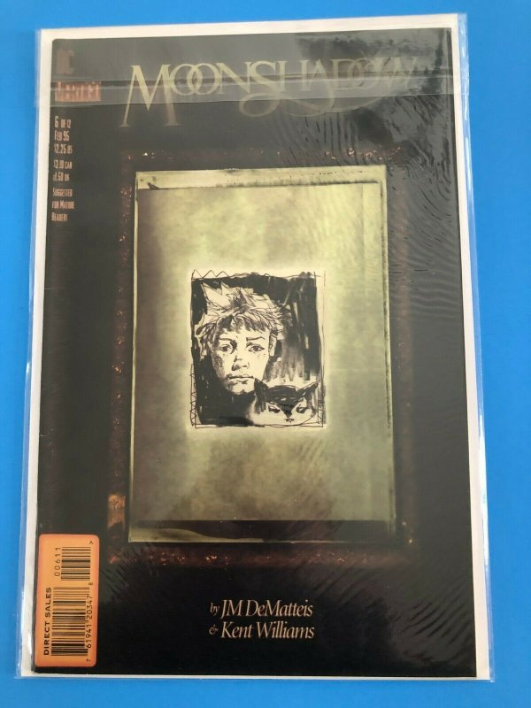 MOONSHADOW  #6 OF 12 1995   DC / VERTIGO / DEIRECT SALES / UNREAD / NM+
