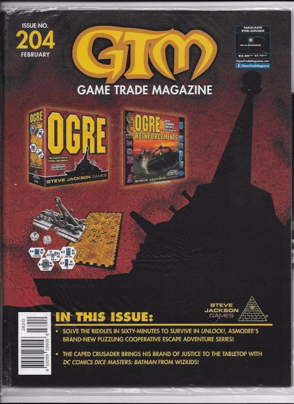 GTM Game Trade Magazine #204 - Ogre / Promo Poster & Card (2017) - New/Sealed!