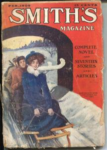 Smith's 2/1909-Gharles Grunwald-pulp fiction-over 100 years old-VG