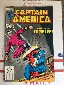 Captain America #291