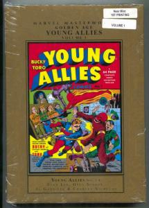 Marvel Masterworks Young Allies Comics Vol 1 hardcover
