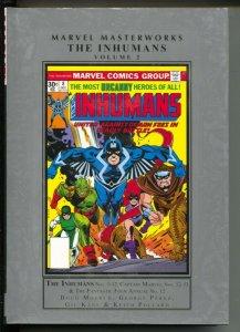 Marvel Masterworks The Inhumans-Doug Moench-Vol 2-2010-HC-VG/FN