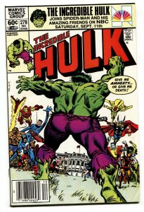 Incredible Hulk #278-comic book 1st SHE-HULK in title