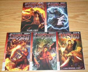 Jim Butcher's the Dresden Files: War Cry #1-5 VF/NM complete series 2 3 4 set