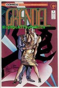 GRENDEL #4, NM, Comico, 1986, Matt Wagner, Dave Stevens, more in store