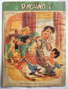 Revista El Pinguino Comic Numero 6 Humor colección vintage