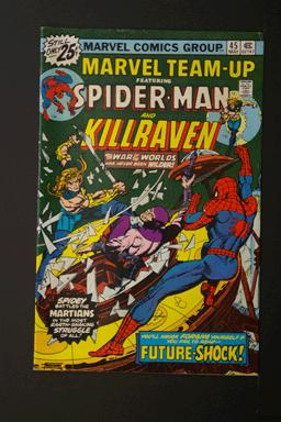 Marvel Team-Up #45 Spider-Man and Killraven May 1976