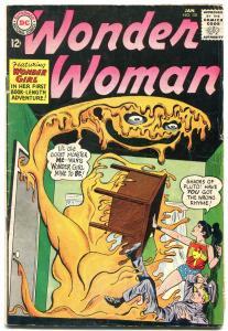 Wonder Woman #151 1965-DC Silver Age- Wonder Girl VG