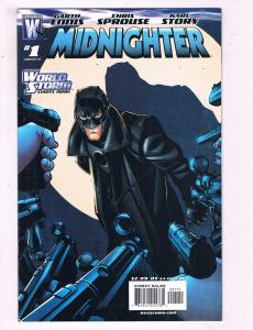 Midnighter #1 VF Wildstorm Comic Book Ennis Sprouse January 2007 DE10