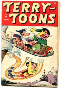 TERRY-TOONS #40 1946-3rd MIGHTY MOUSE-TIMELY FUNNY ANIMALS-good/very good G/VG