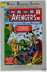 Marvel Milestone Edition Avengers #1, VF+ (Stock photo)