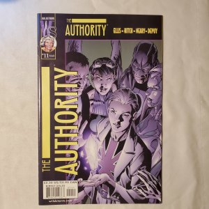 Authority 11 Very Fine/Near Mint Cover by Bryan Hitch