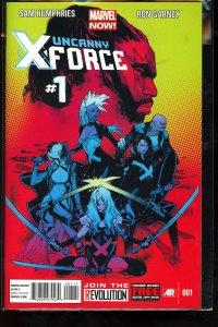 Uncanny X-Force (MX) #1 (2013)