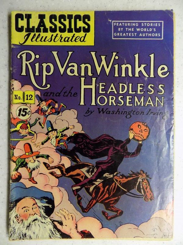 Classics Illustrated #12 (1943) HRN 118