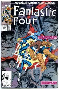 FANTASTIC FOUR #347, NM+, Hulk , Wolvine, Spider-man, more in store