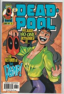 DEAD-POOL #6 (Jun-97) NM- High-Grade Deadpool