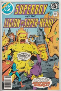 Superboy #251 (May-79) NM Super-High-Grade Superboy, Legion of Super-Heroes