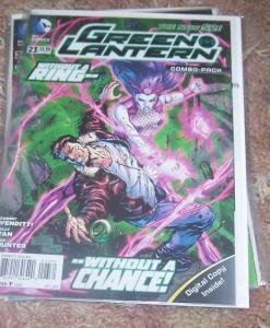 Green Lantern  #23  2013, DC new 52 +digital combo pack+simon baz Rebirth HOT