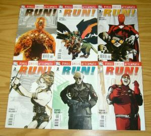 Final Crisis Aftermath: Run! #1-6 VF/NM complete series - dc comics 2 3 4 5 set
