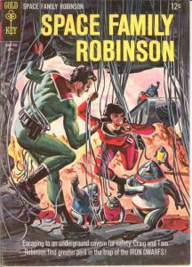 SPACE FAMILY ROBINSON 12 VG-F April 1965 COMICS BOOK