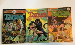 Tarzan #242, 253, 257