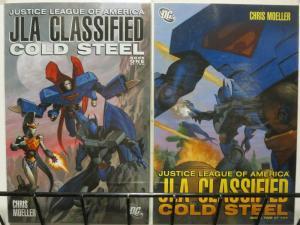JLA CLASSIFIED COLD STEEL (2006)1-2 Christopher Moeller