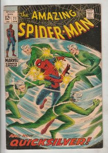 Amazing Spider-Man #71 (Apr-69) VF High-Grade Spider-Man