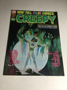 Creepy 56 Vf Very Fine 8.0 Warren Magazine