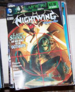 Nightwing #13 ( Dec  2012, DC) the new 52  Lady Shiva gotham