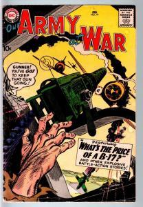 OUR ARMY AT WAR #79 1959-DC WAR COMIC-JOE KUBERT-VG VG