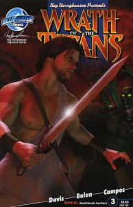 Wrath of the Titans #3B VF/NM; Bluewater   save on shipping - details inside