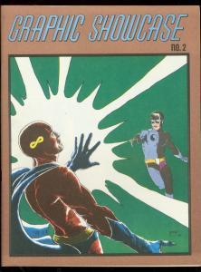 GRAPHIC SHOWCASE #2-1969-WRIGHTSON HORROR-KALUTA COVER VF/NM