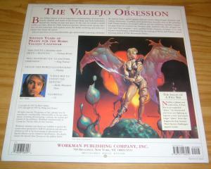 Boris Vallejo's 1998 Fantasy Calendar #1 NEW - SEALED fantasy sword sorcery