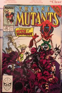 New Mutants  84  VG/FN