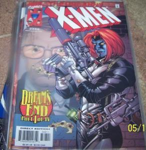 UNCANNY X-MEN #388 Dec 2000, Marvel dreams end mystique cable rogue
