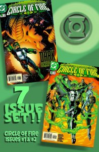GREEN LANTERN: CIRCLE OF FIRE #1-2 PLUS FIVE Related One-Shots! 2000 Mini-Series