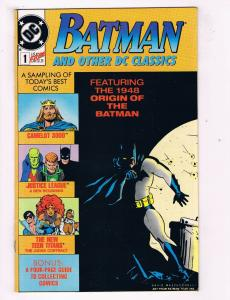 Batman & Other DC Classics #1 VG DC Comics Comic Book Mazzucchelli DE40 AD14