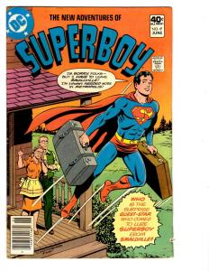 5 The New Adventures of Superboy DC Comic Books # 6 7 8 9 10 Superman BH20