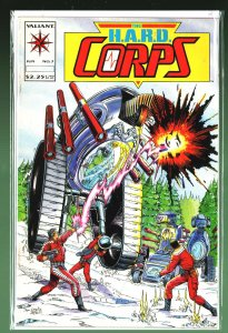 The H.A.R.D. Corps #7 (1993)