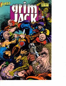 Lot Of 5 Grimjack First Comic Books #31 32 33 34 35 Superman Batman WT10