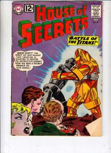 House of Secrets #55 (Aug-62) FN+ Mid-High-Grade