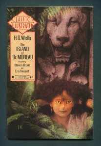 Classic Illustrated #12 (HG Wells: Dr.Moreau)  VFN+  1990