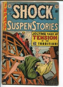 Shock SuspenStories #13 1954-EC-Frank Frazetta-Wally Wood-Jack Kamen-VG-