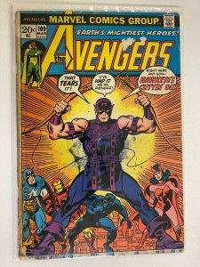 Avengers #109 Marvel 1st Series tape on spine 3.0 (1973)