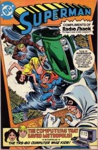 Superman: Radio Shack Giveaways #1980 VG; DC | low grade comic - save on shippin
