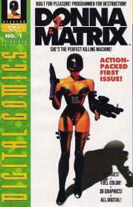 Donna Matrix #1 VF/NM; Reactor   save on shipping - details inside