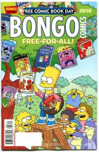 BONGO FREE-FOR-ALL #1, NM, FCBD, 2016, Bart Simpson, more Promo / items in store
